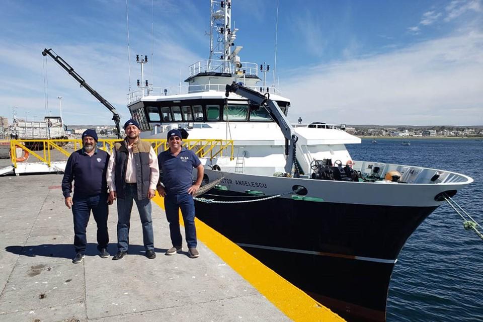 Asoc. de Capitanes sobre el BIP Angelescu, reforma de la Ley de Pesca, y Justicia por el San Antonino