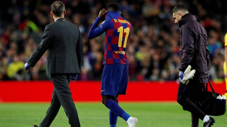 Dembélé iniciará mañana una recuperación que alternará entre Qatar y Barça