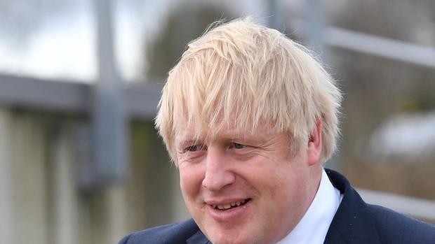 Boris Johnson está dando un discurso conciliador en la consumación del Brexit