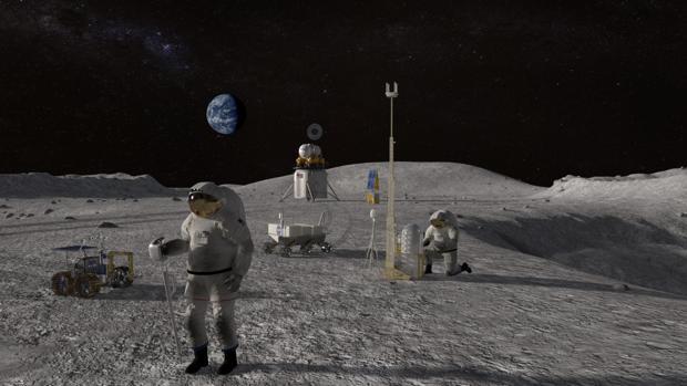 La nasa pagara a empresas que puedan traer rocas de la luna