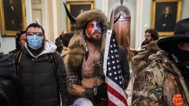 Jack Angeli, el joven protagonista del asalto al Capitolio de Estados Unidos