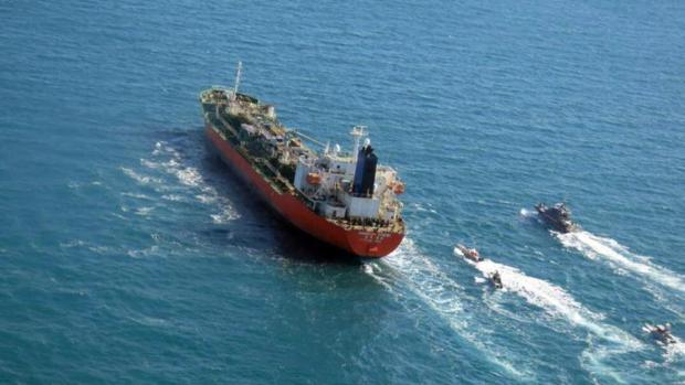 Guardianes de la Revolución iraníes capturan buque cisterna con pabellón surcoreano